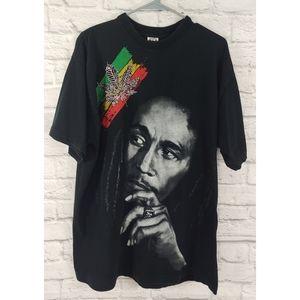 Vintage Onix Bob Marley Tee, Size XL